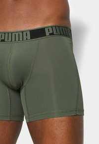 Puma - ACITVE BOXER 2 PACK - Pants - army green - 4