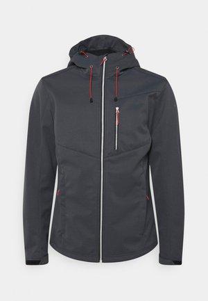 BALLARD - Soft shell jacket - granite