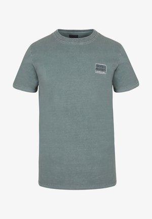 PRIVATE TEE - Print T-shirt - green