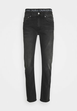 SLIM TAPER - Slim fit jeans - denim black