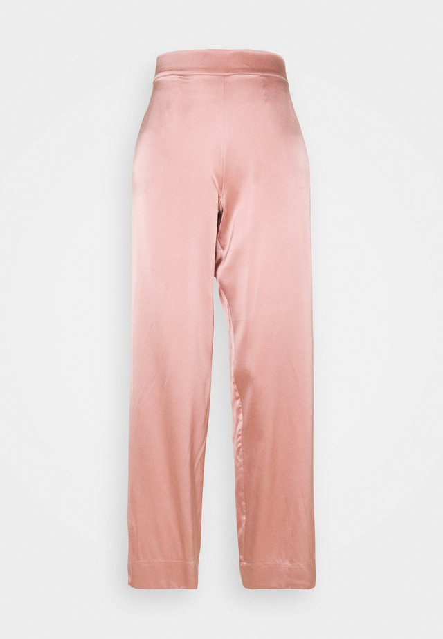 THE LONDON BOTTOM - Pyjamahousut/-shortsit - dusty rose