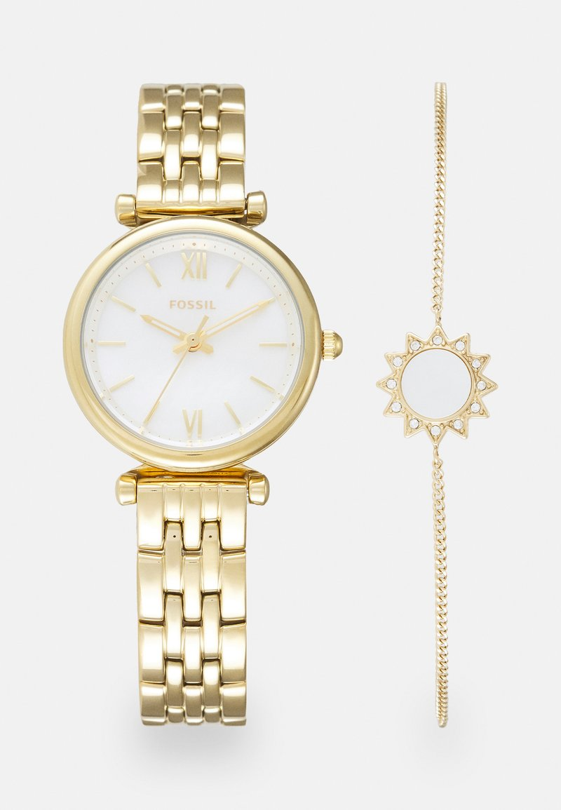 Fossil - CARLIE MINI SET - Watch - gold-coloured