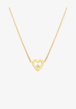 HEART - Kaulakoru - gold