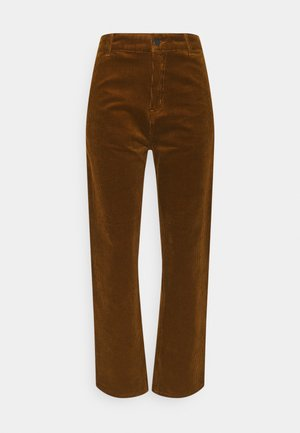 PIERCE PANT STRAIGHT - Cargo trousers - tawny