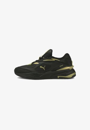 Sneakers laag - puma black puma team gold