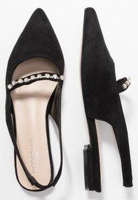 Hot Soles - Slingback ballet pumps - black - 3