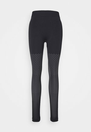 SEAMLESS GRADUAL - Leggings - black