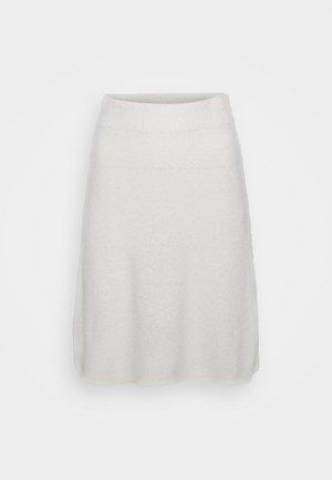 VIHELLY SKATER - A-line skirt - cloud dancer
