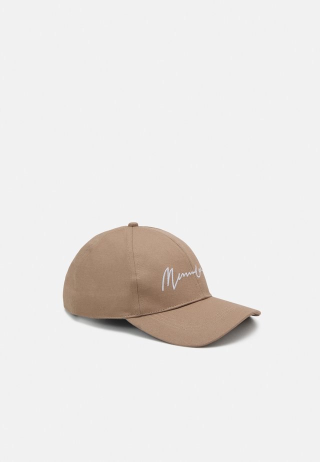 EMBROIDERED LOGO UNISEX - Cap - beige