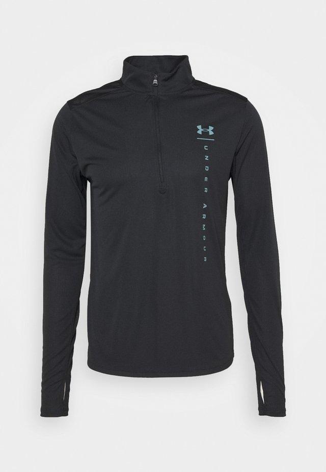 UA SPEED STRIDE SHOCK HZ-BLK - Treningsskjorter - black