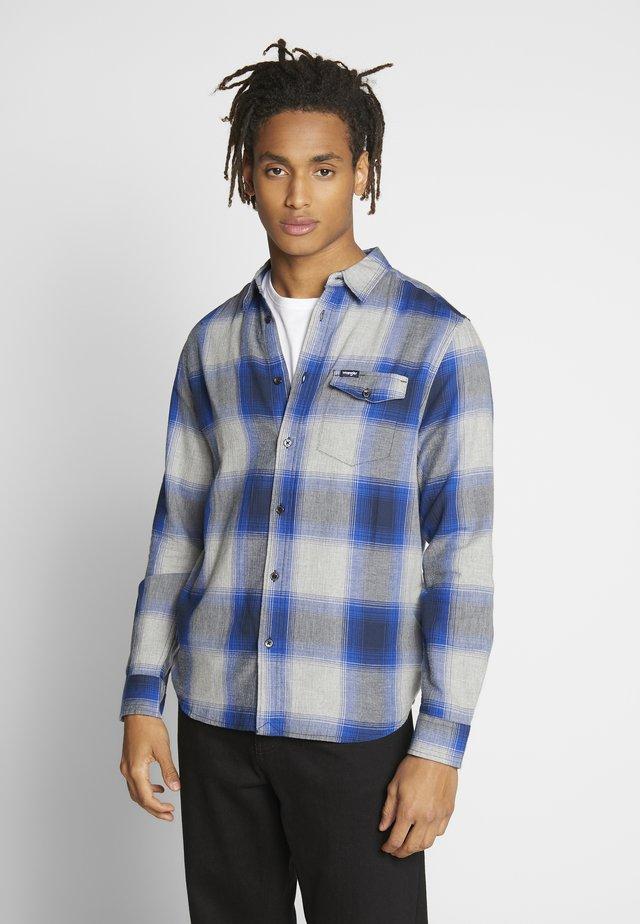 FLAP SHIRT - Skjorter - cobalt blue