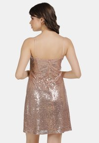 myMo at night - PAILLETTENKLEID - Cocktail dress / Party dress - rosa gold - 2