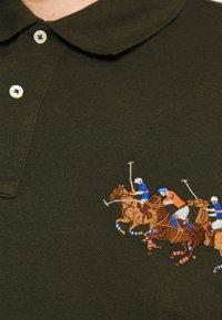 Polo Ralph Lauren Big & Tall - SHORT SLEEVE - Polo shirt - dark loden - 5