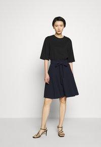 HUGO - ROMELLI - A-line skirt - open blue - 1