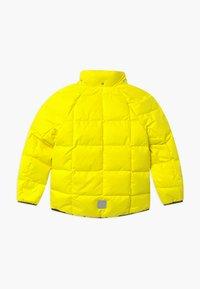 Reima - JORD UNISEX - Down jacket - lemon yellow - 2