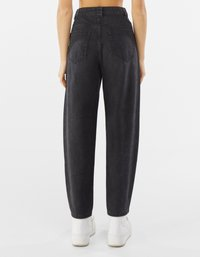 Bershka - Straight leg jeans - dark grey - 2