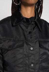Gina Tricot - JOLINE SHACKET - Lett jakke - black - 4