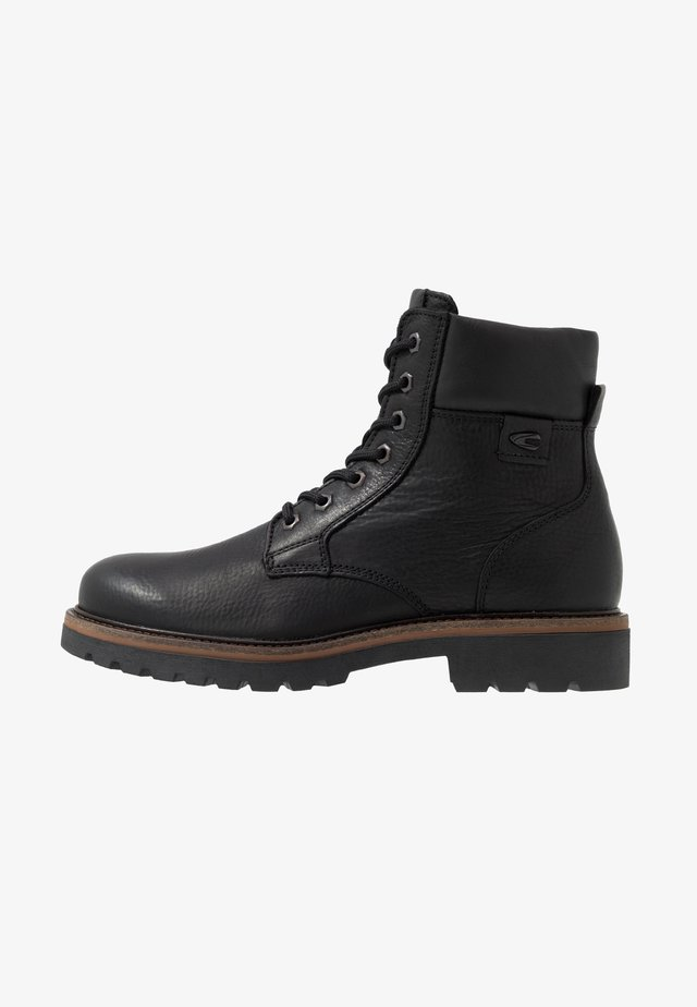CANBERRA - Lace-up ankle boots - black