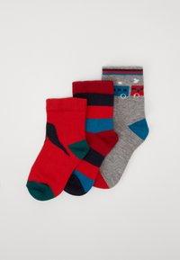 Paul Smith Junior - BAMBINO GIFT BOX SOCKS 3 PACK - Ponožky - marl grey - 0