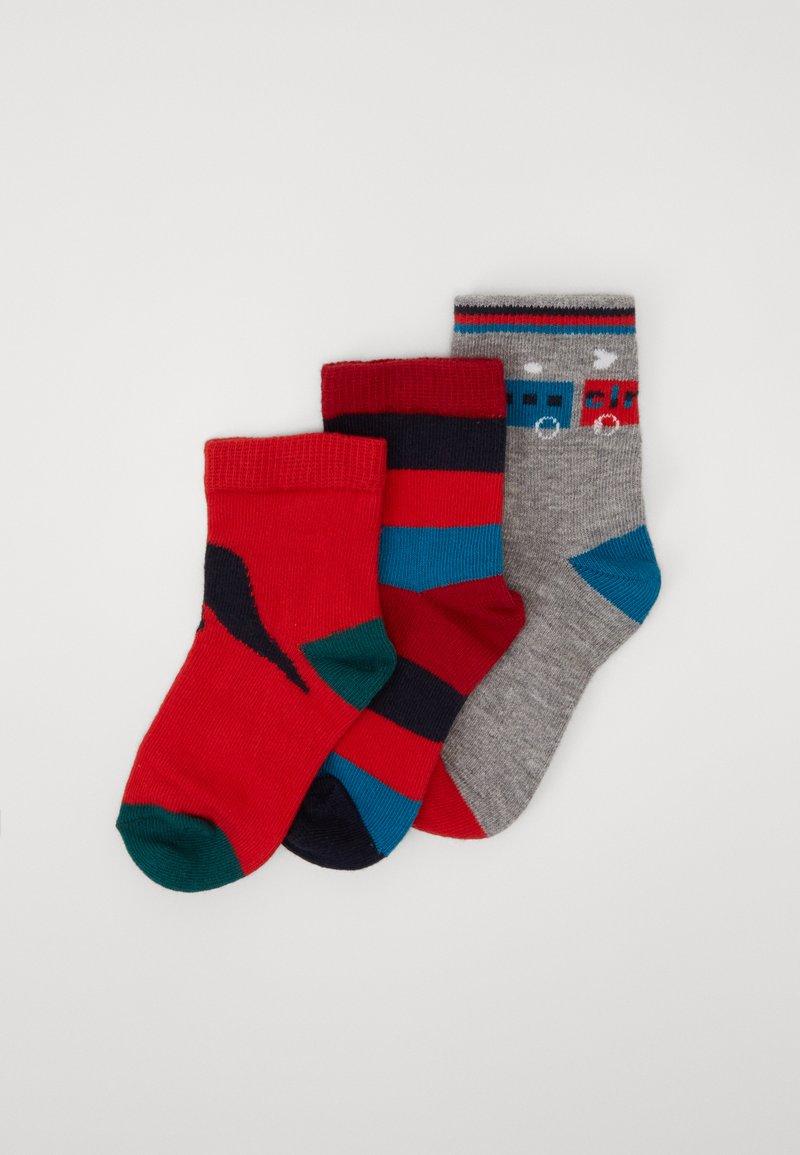 Paul Smith Junior - BAMBINO GIFT BOX SOCKS 3 PACK - Ponožky - marl grey