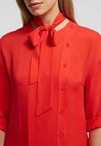 KARL LAGERFELD - Day dress - tangerine - 4