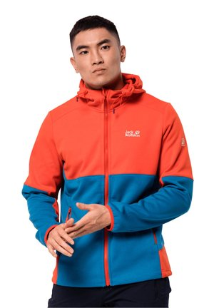 Soft shell jacket - blue pacific