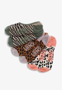 Vans - WM SAFARI CANOODLES (1-6, 3PK) - Socks - salmon, orange, green - 0