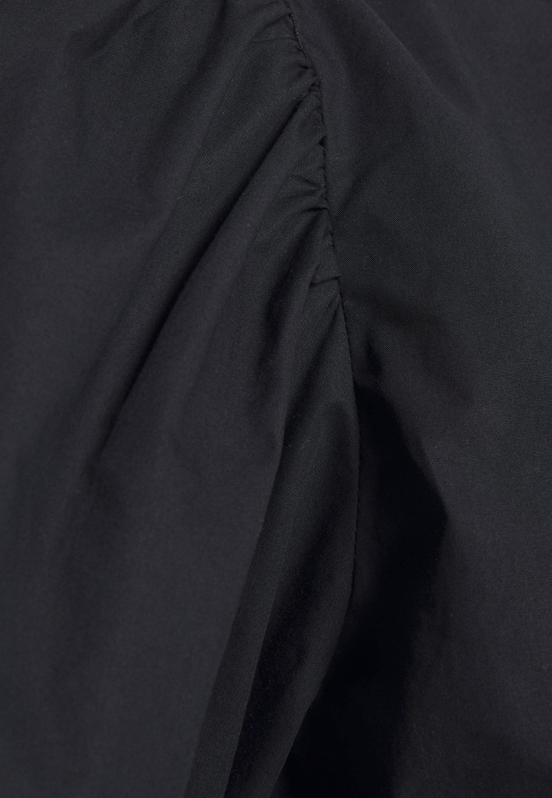 Monki Sissi Blouse - Bluser Black Dark/svart