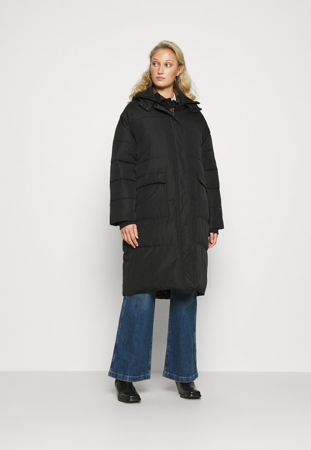 SRSIGNE PUFFER COAT - Winterjas - black