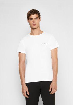 POITOU AVANT GARDE - T-shirt basique - white
