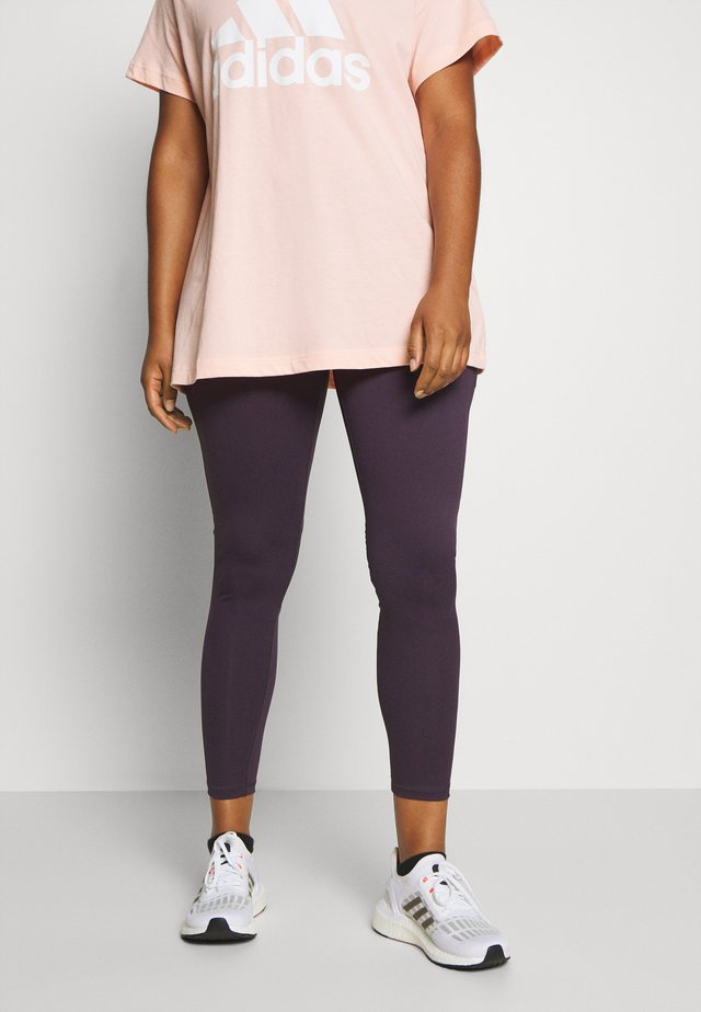 ASK LONG  - Tights - noble purple