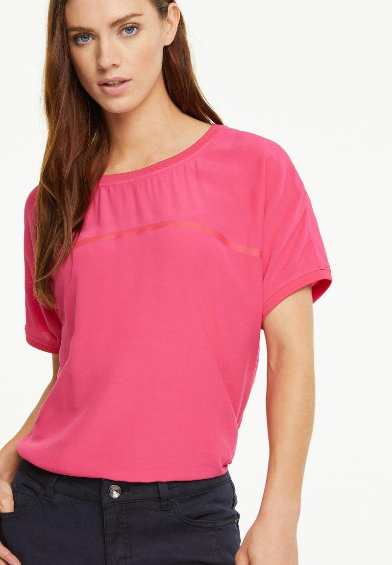 comma casual identity - Basic T-shirt - pink