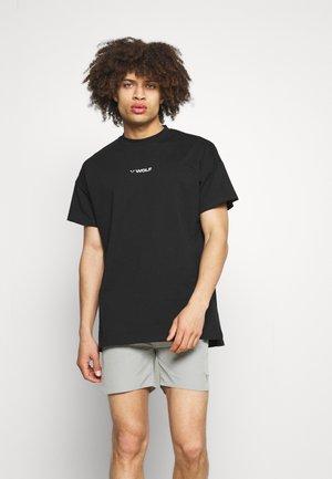 BODYBUILDING TEE - Print T-shirt - black