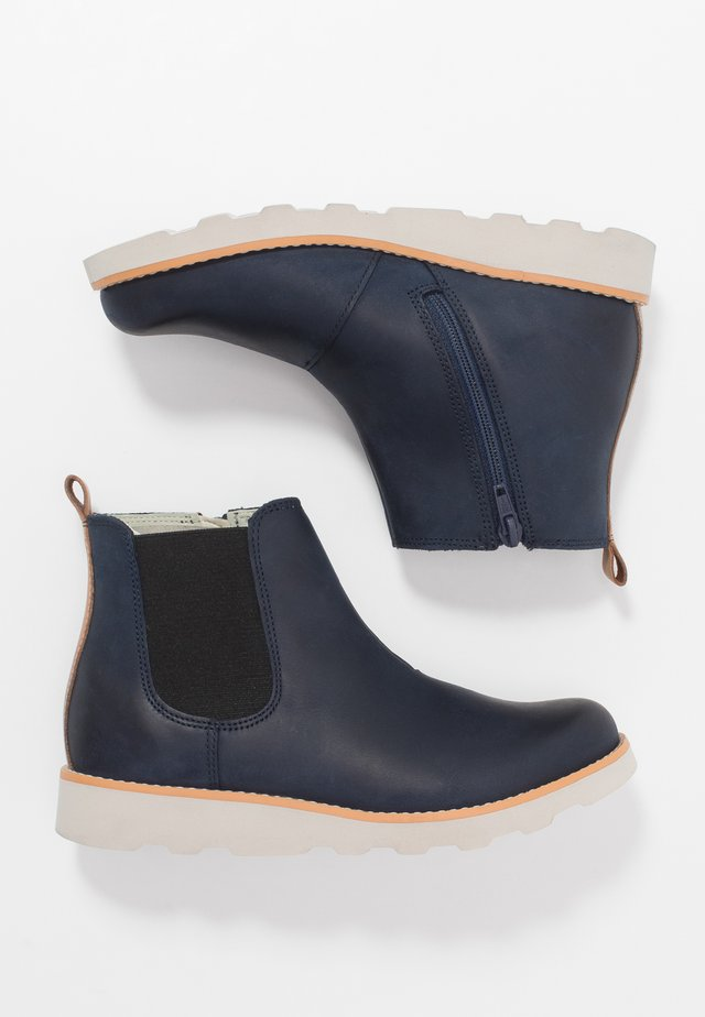 CROWN HALO - Classic ankle boots - navy