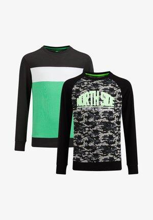 2 PACK - Top sdlouhým rukávem - green/black