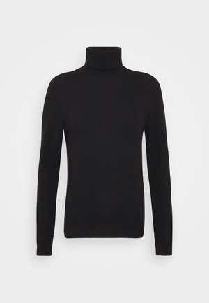 TURTLE NECK - Pullover - black