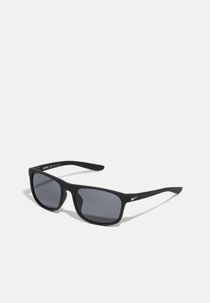 ENDURE UNISEX - Sunglasses - matte black/white/dark grey