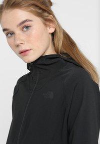 The North Face - W APEX NIMBLE HOODIE - Waterproof jacket - black - 4
