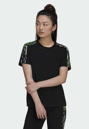REGULAR TEE - T-shirts med print - black