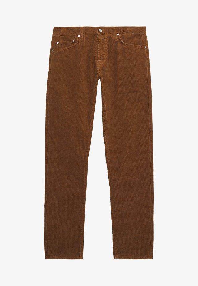 KLONDIKE PANT ALBANY - Broek - hamilton brown rinsed
