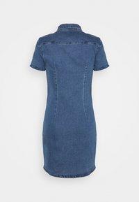 Noisy May - NMJOY DRESS - Denim dress - medium blue denim - 1
