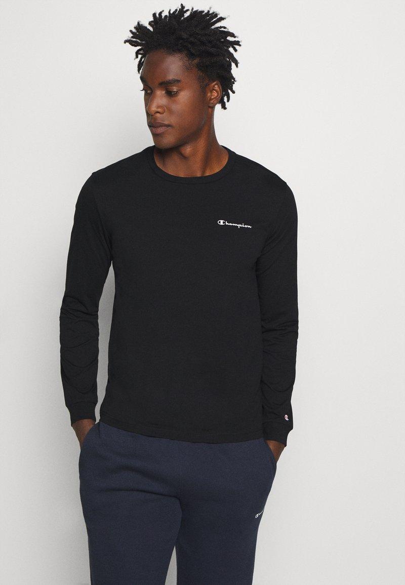 Champion - LEGACY LONG SLEEVE CREWNECK - Bluzka z długim rękawem - black