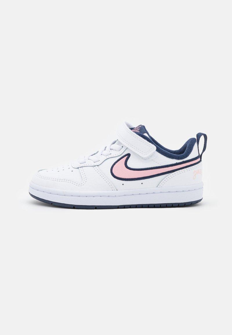 Nike Sportswear - COURT BOROUGH 2 SE1 UNISEX - Baskets basses - white/pink glaze/midnight navy