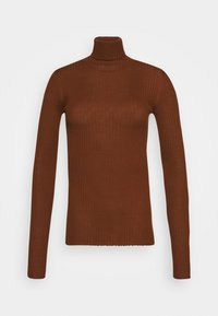 Selected Femme Tall - SLFCOSTA ROLLNECK TALL - Jumper - smoked - 5