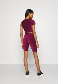Ellesse - MARGIOT - Camiseta estampada - burgundy - 2