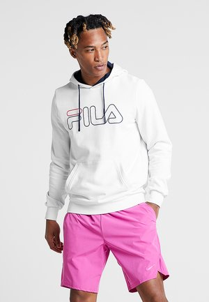HOODY WILLIAM - Hoodie - white