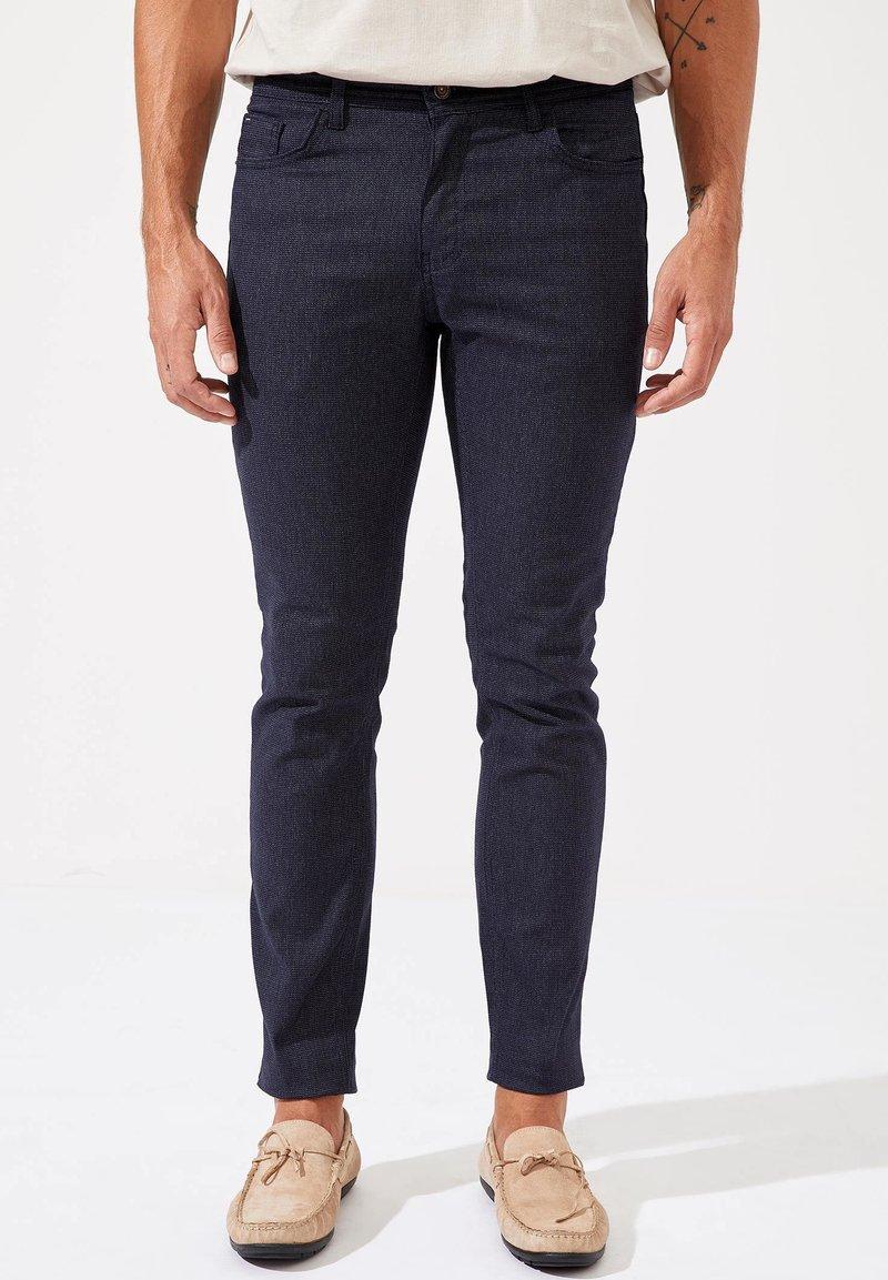 DeFacto - Pantalon classique - navy