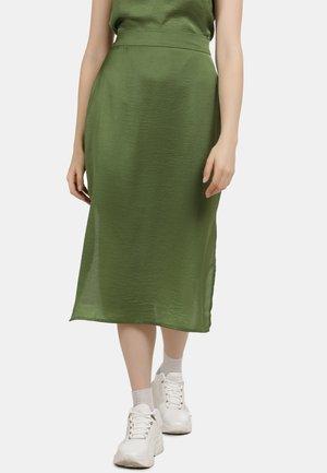Spódnica trapezowa - oliv