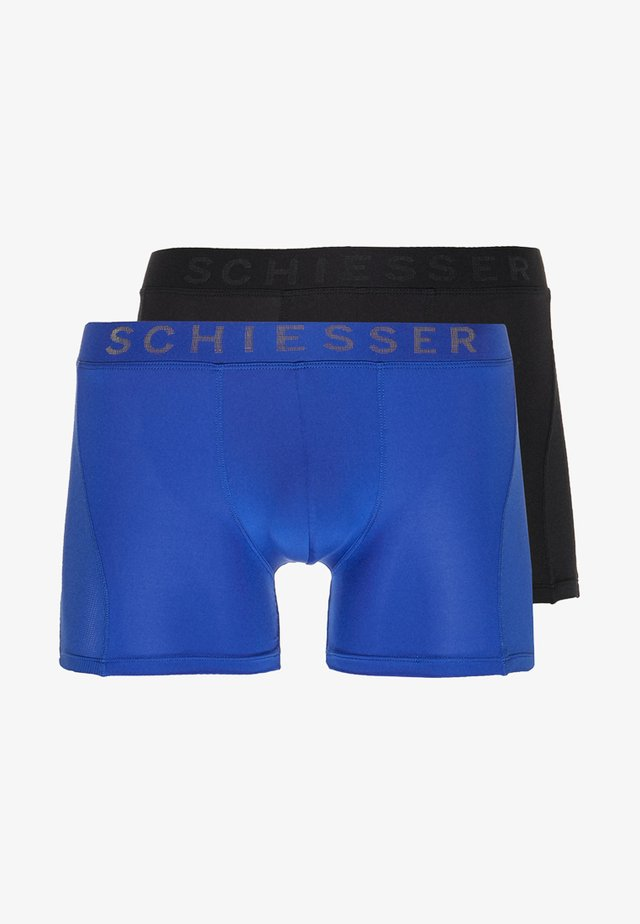 XPRESS 2 PACK - Pants - blue/black