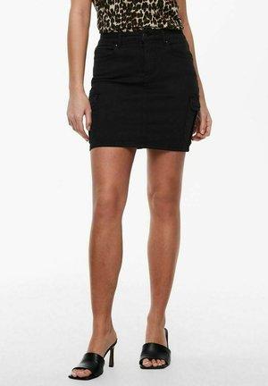 ONLMISSOURI LIFE SKIRT - Minifalda - black